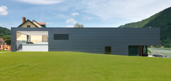Конферентен хотел във Везенуфер – проектиран с У. Шустер и Кр. Шупа     –    Автор / Източник: www.skyline-architekten.at